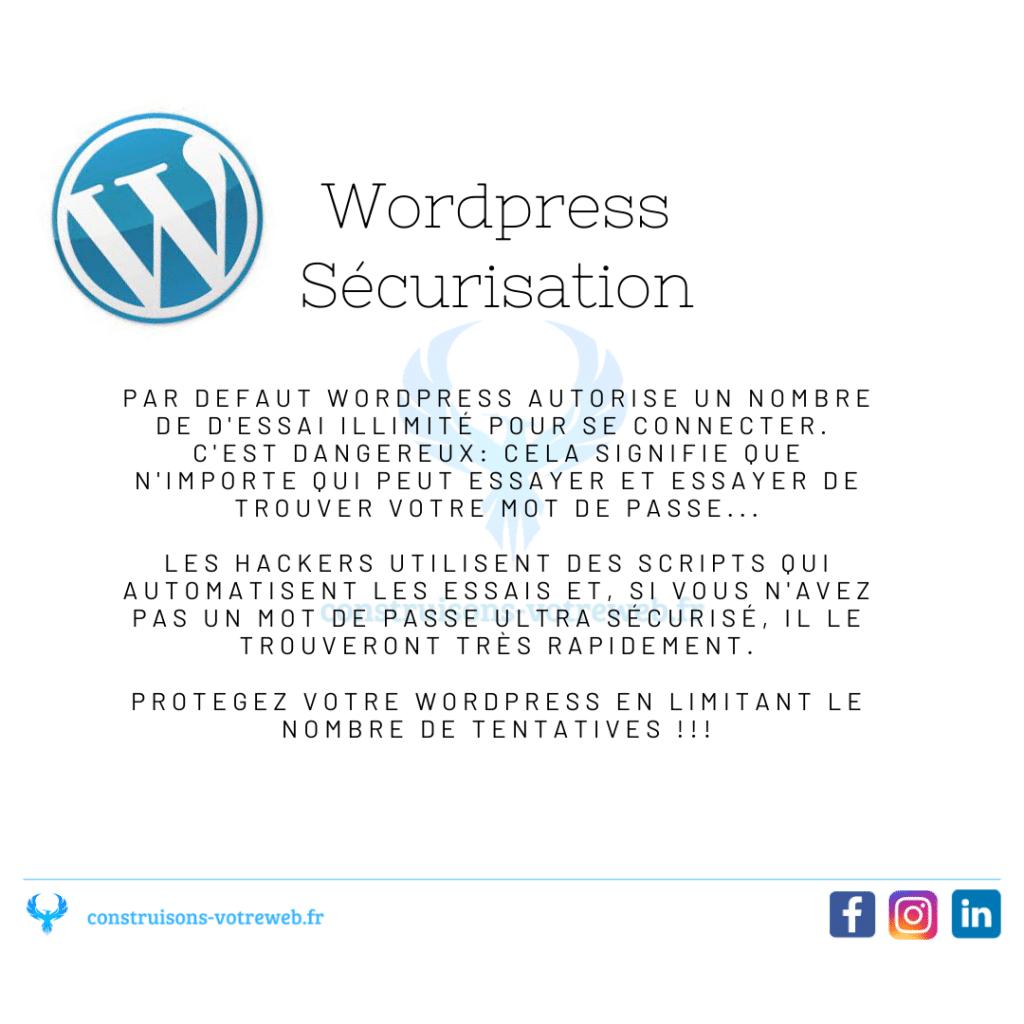 sécurisation wordpress piratage web