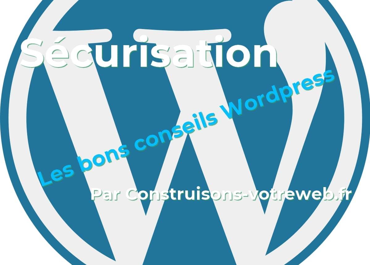 Sécurisez votre site WordPress
