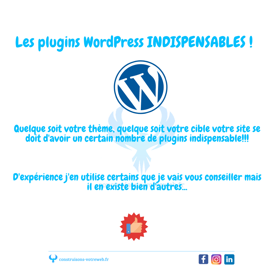 Read more about the article Les plugins WordPress Indispensables